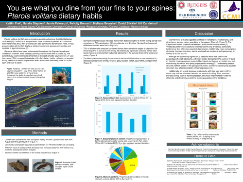 Multi-society Undergraduate Virtual Poster Showcase - November 2015 Winning Poster
